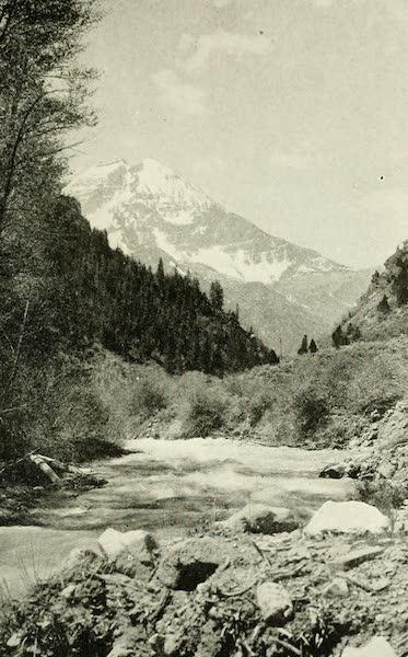 Utah, the Land of Blossoming Valleys - Mount Timpanogos (1922)