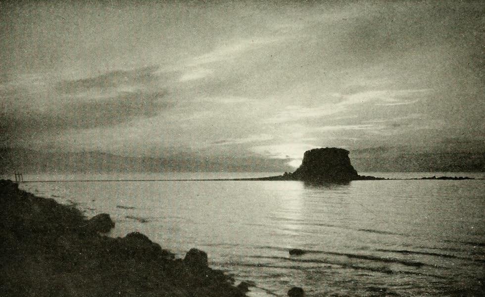 Utah, the Land of Blossoming Valleys - Black Rock, Great Salt Lake (1922)