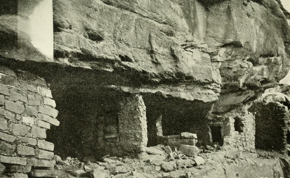 Utah, the Land of Blossoming Valleys - Cliff Dwellings, La Sal National Forest (1922)