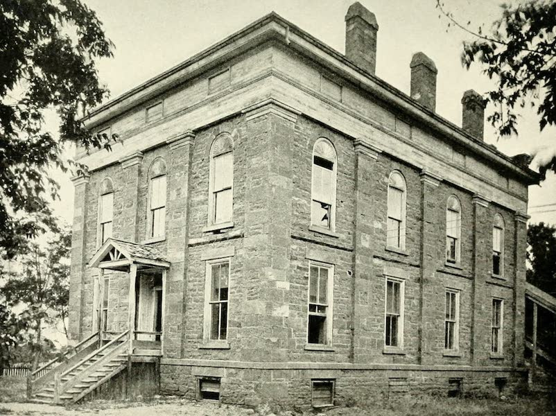 Utah, the Land of Blossoming Valleys - Old State House, Fillmore (1922)