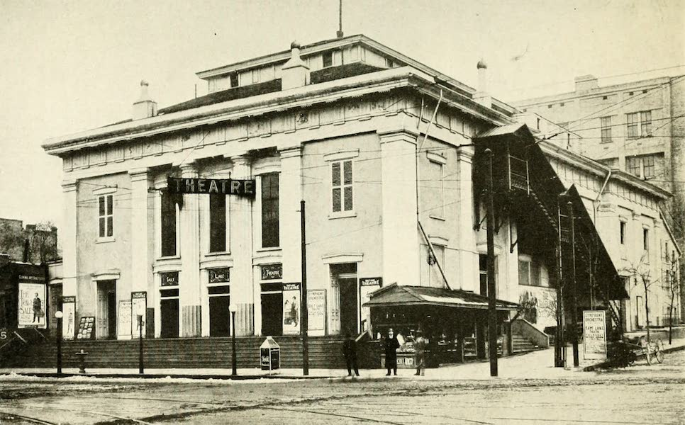 Utah, the Land of Blossoming Valleys - The Old Salt Lake Theater, Salt Lake City (1922)