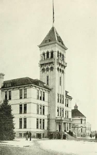 Utah, the Land of Blossoming Valleys - State Agricultural College, Logan (1922)