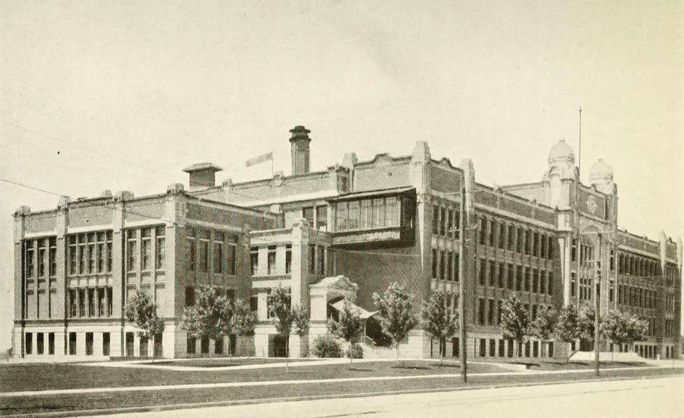 Utah, the Land of Blossoming Valleys - East Side High School, Salt Lake City (1922)