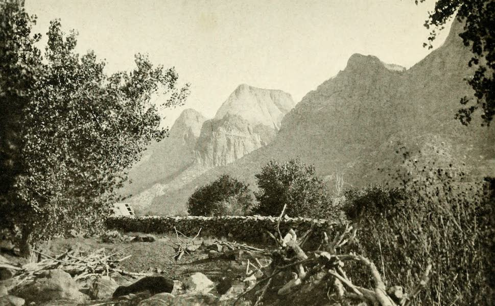 Utah, the Land of Blossoming Valleys - East Temple, Zion Canyon (1922)