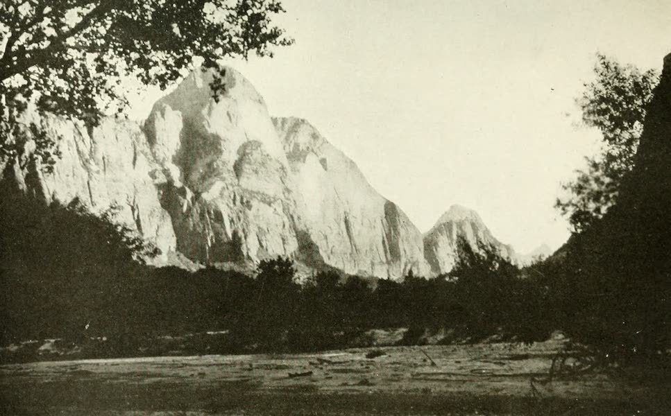 Utah, the Land of Blossoming Valleys - The Mountain of the Sun, Zion Canyon (1922)