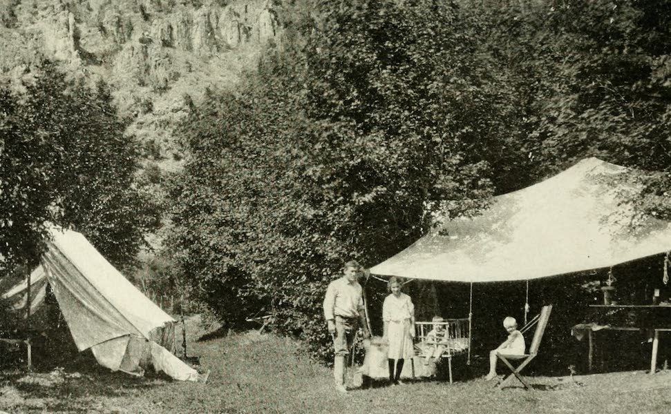 Utah, the Land of Blossoming Valleys - Camping in the Cache National Forest (1922)
