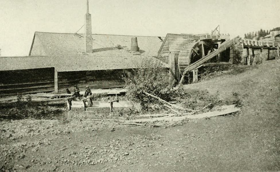 Utah, the Land of Blossoming Valleys - Old Mill on City Creek, near Salt Lake City (1922)