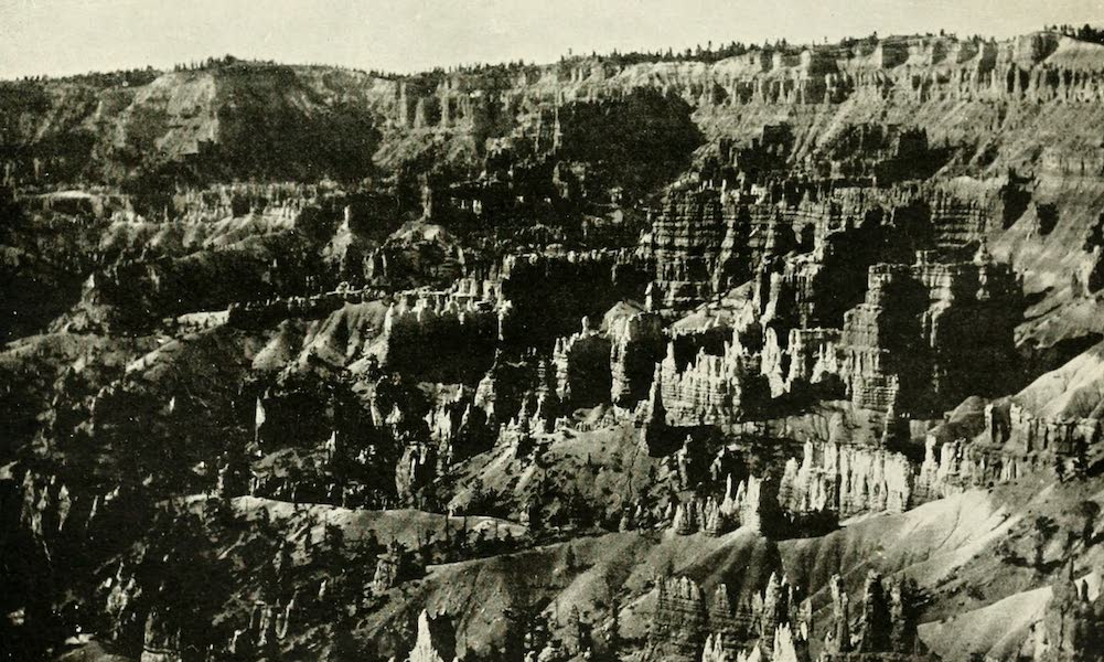 Utah, the Land of Blossoming Valleys - Temples of the Gods, Bryce Canyon (1922)