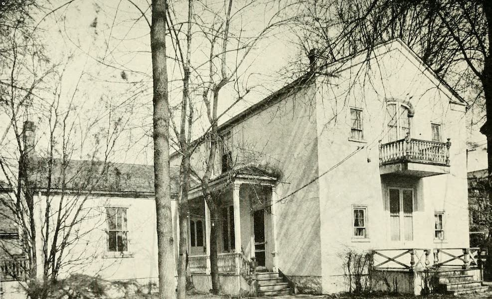 Utah, the Land of Blossoming Valleys - Old White House, First Residence of Brigham Young, Salt Lake City (1922)