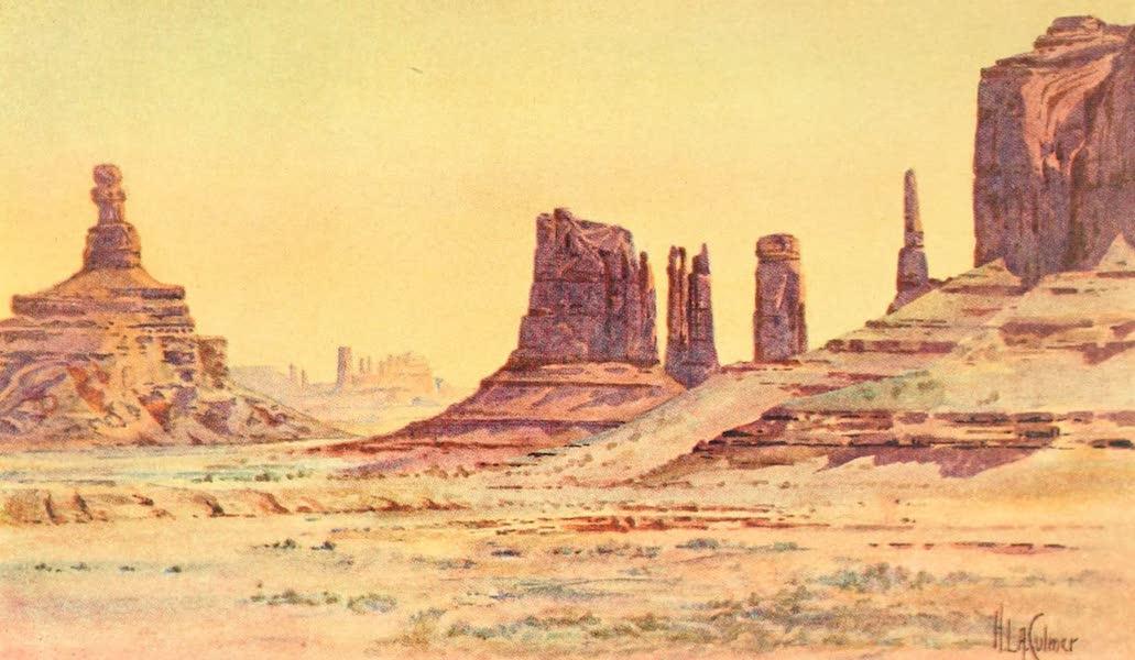 Utah, the Land of Blossoming Valleys - Monument Park, in Southeastern Utah (1922)