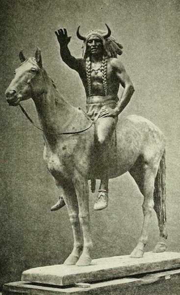 """Utah, the Land of Blossoming Valleys - """"Medicine Man"""" By Cyrus E. Dallin (1922)"""