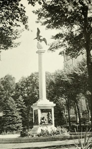Utah, the Land of Blossoming Valleys - The Sea-Gull Monument, in the Temple Grounds, Salt Lake City (1922)