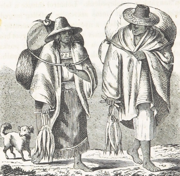 Utazas Kalifornia deli Reszeiben - Los-Angeles videkebeli emberek (1860)