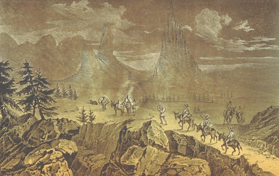 Utazas Kalifornia deli Reszeiben - A Sierra Nevada tetejen, Julius 13 an (1860)