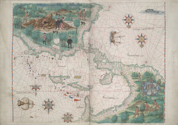 Vallard Atlas - Europe and Northern Africa (1547)