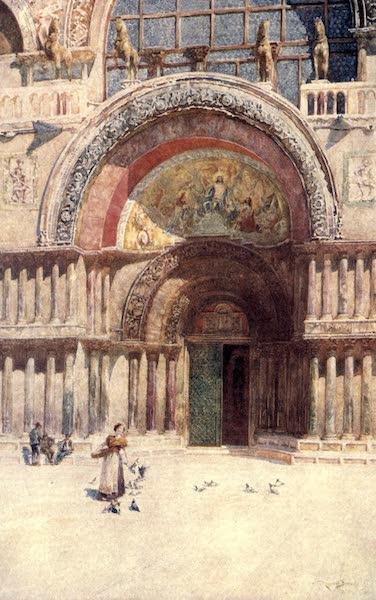 Venice - The Doorway of San Marco (1907)