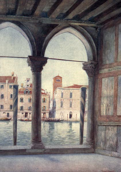 Venice - View from Ca d'Oro (1907)