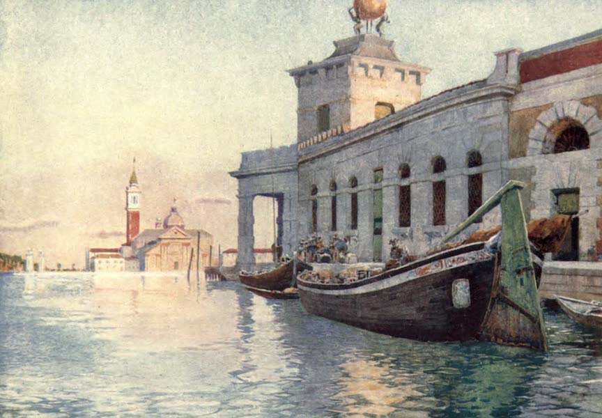 Venice - The Dogana (1907)