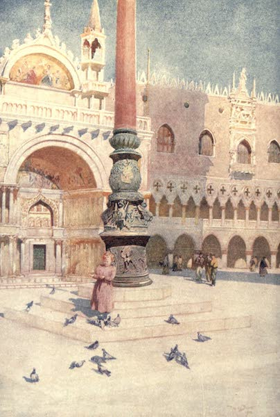 Venice - The Shadow of the Campanile (1907)