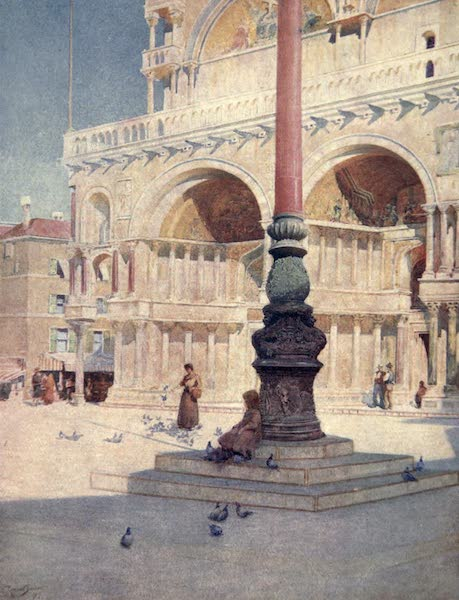 Venice - In the Piazza (1907)