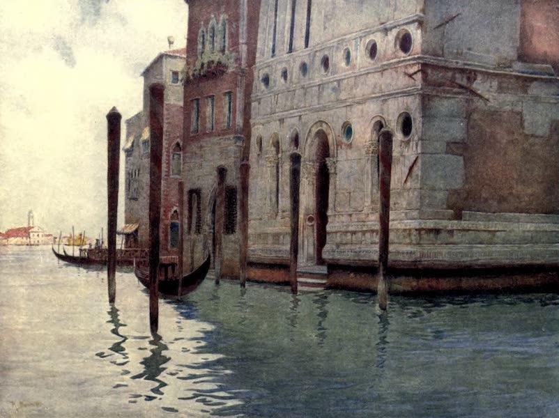 Venice - Corner of the Palazzo Dario (1907)
