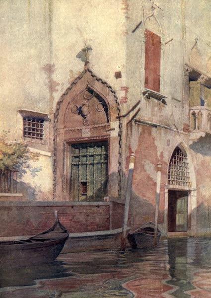 Venice - Palazzo Sanudo (1907)