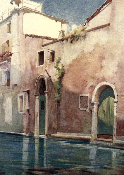 Venice - A Side Canal (1907)