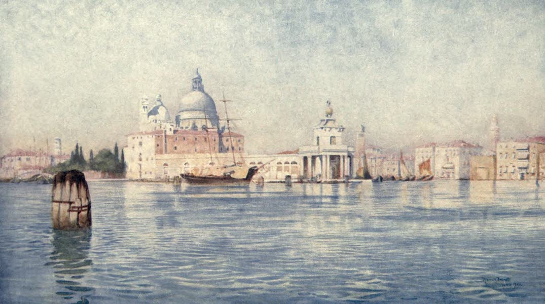 Venice - Entrance of the Grand Canal (1907)