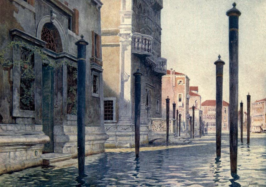 Venice - View on the Grand Canal (1907)