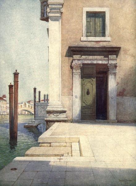 Venice - Towards the Rialto San Angelo (1907)