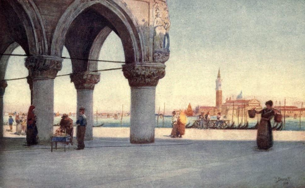 Venice - Evening in the Piazzetta (1907)