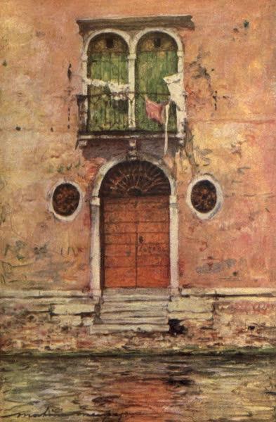Venice, by Mortimer Menpes - A Pink Palace (1904)