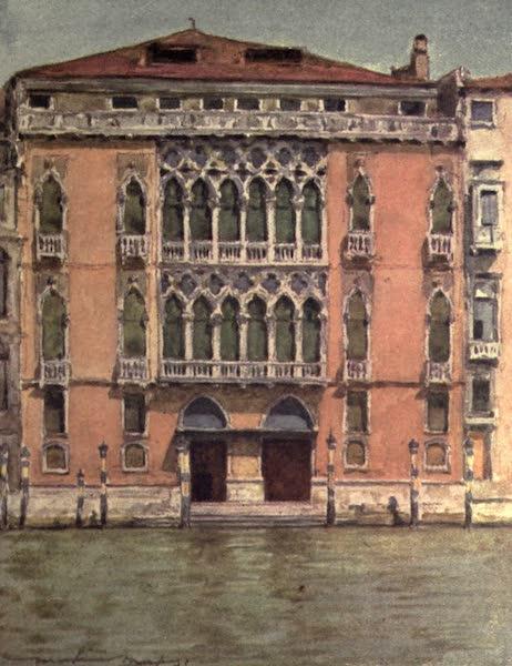Venice, by Mortimer Menpes - Palazzo Pisani (1904)