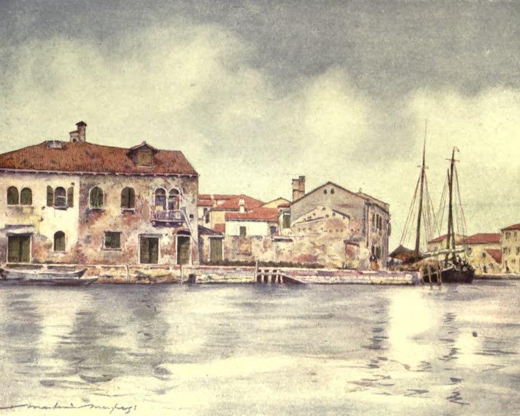 Venice, by Mortimer Menpes - Giudecca (1904)
