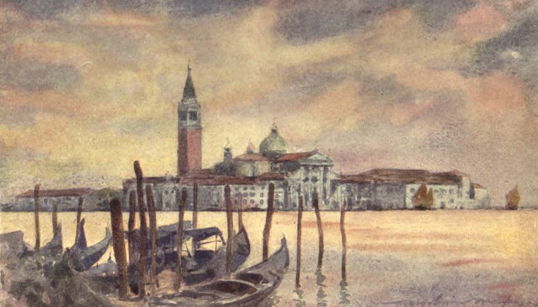 Venice, by Mortimer Menpes - San Giorgio Maggiore (1904)