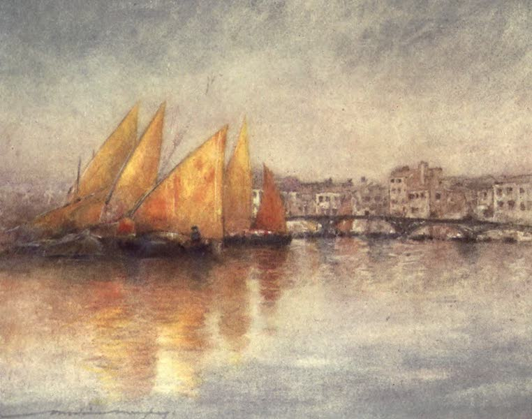 Venice, by Mortimer Menpes - Off the Giudecca (1904)