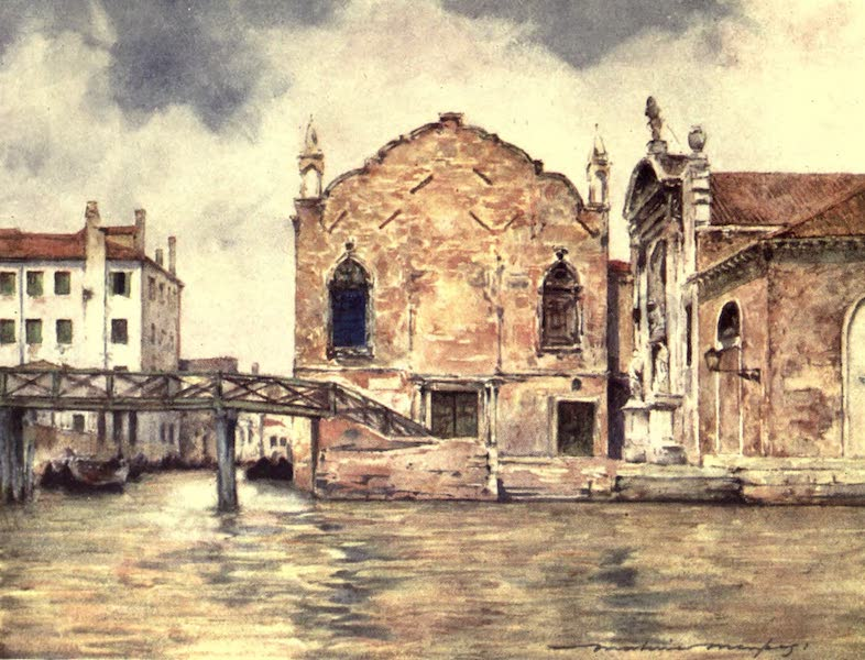 Venice, by Mortimer Menpes - St. Maria delle Misericordia (1904)