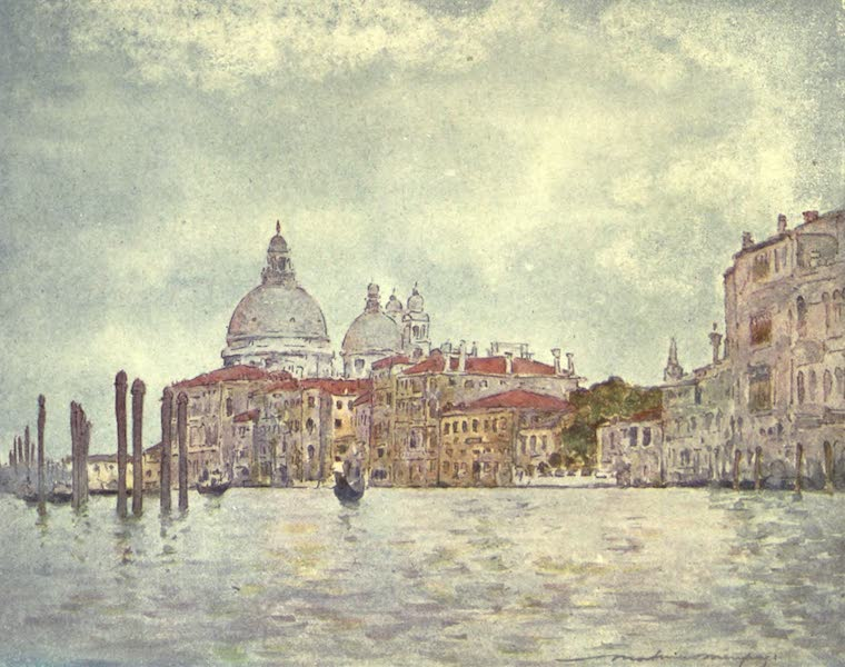 Venice, by Mortimer Menpes - On the Grand Canal (1904)