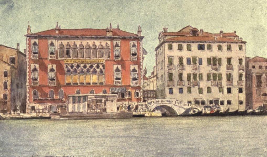 Venice, by Mortimer Menpes - Hotel Danieli (1904)