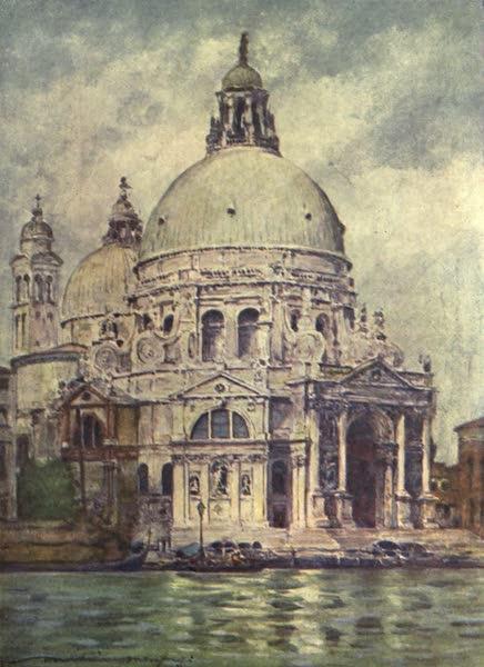 Venice, by Mortimer Menpes - Santa Maria della Salute (1904)