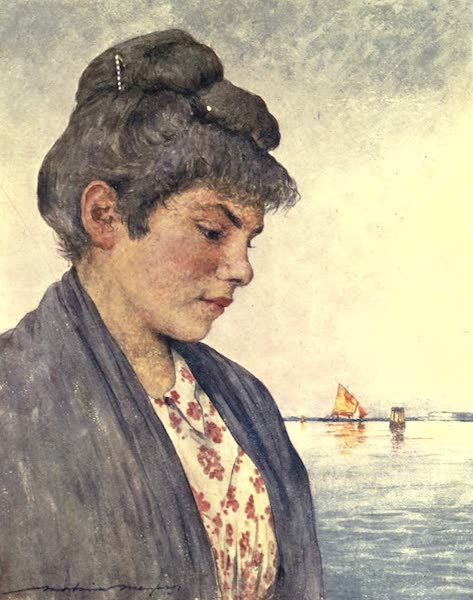 Venice, by Mortimer Menpes - Francesca (1904)