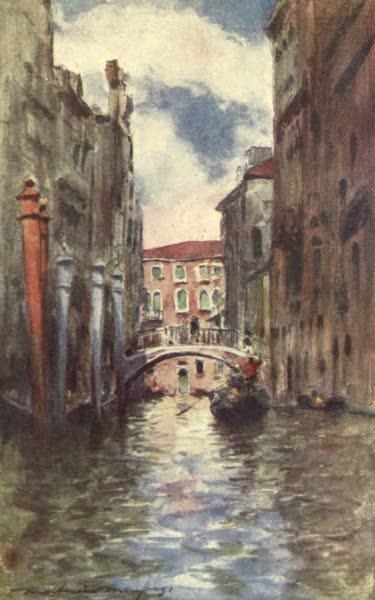 Venice, by Mortimer Menpes - Rio di San Marina (1904)