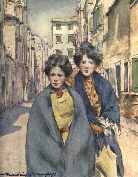 Venice, by Mortimer Menpes - Work Girls (1904)