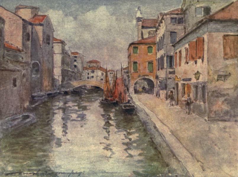 Venice, by Mortimer Menpes - Chioggia Fish Market (1904)