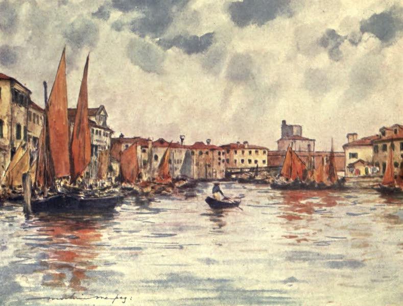 Venice, by Mortimer Menpes - Chioggia (1904)