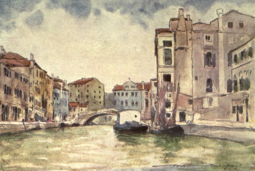 Venice, by Mortimer Menpes - In Murano (1904)