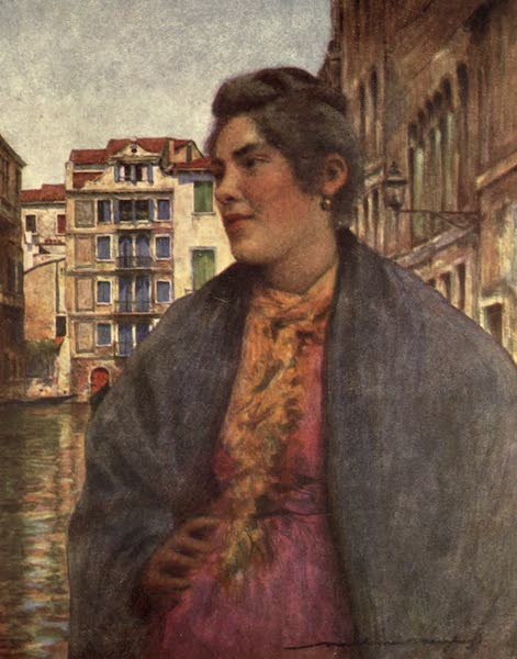 Venice, by Mortimer Menpes - A Woman of the People (1904)