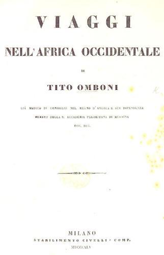 British Library - Viaggi nell'Africa Occidentale