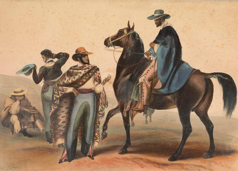 Viaje Pintoresco y Arqueolojico de la Republica Mejicana - Rancheros (1840)