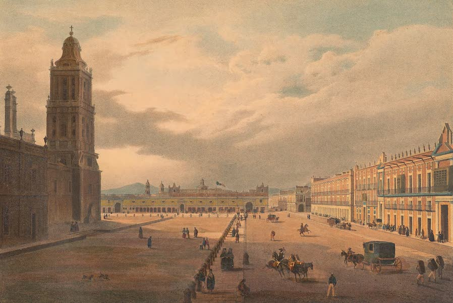 Viaje Pintoresco y Arqueolojico de la Republica Mejicana - Interior de Mexico (1840)